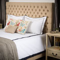 Jezebel Tufted Fabric California King Bed Set by Christopher Knight Home