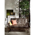 INK+IVY Waldorf Chocolate Accent Loveseat