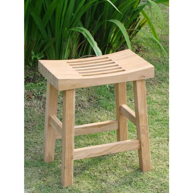 Shop Teak Bath and Spa Bench - Free Shipping Today - Overstock.com ...
