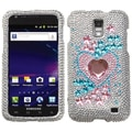 INSTEN Star Track Diamond Phone Case Cover for Samsung Galaxy S II Skyrocket i727