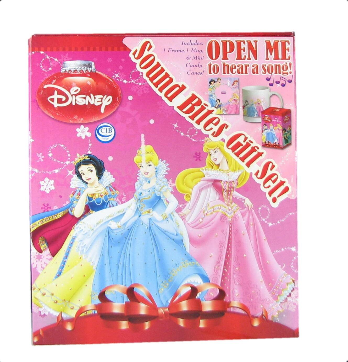 Disney Princess Mug Gift Set with Music Playing Gift Set - Free ...