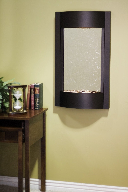 Shop Adagio SWA3540 Serene Waters - Silver Mirror Wall Fountain ...