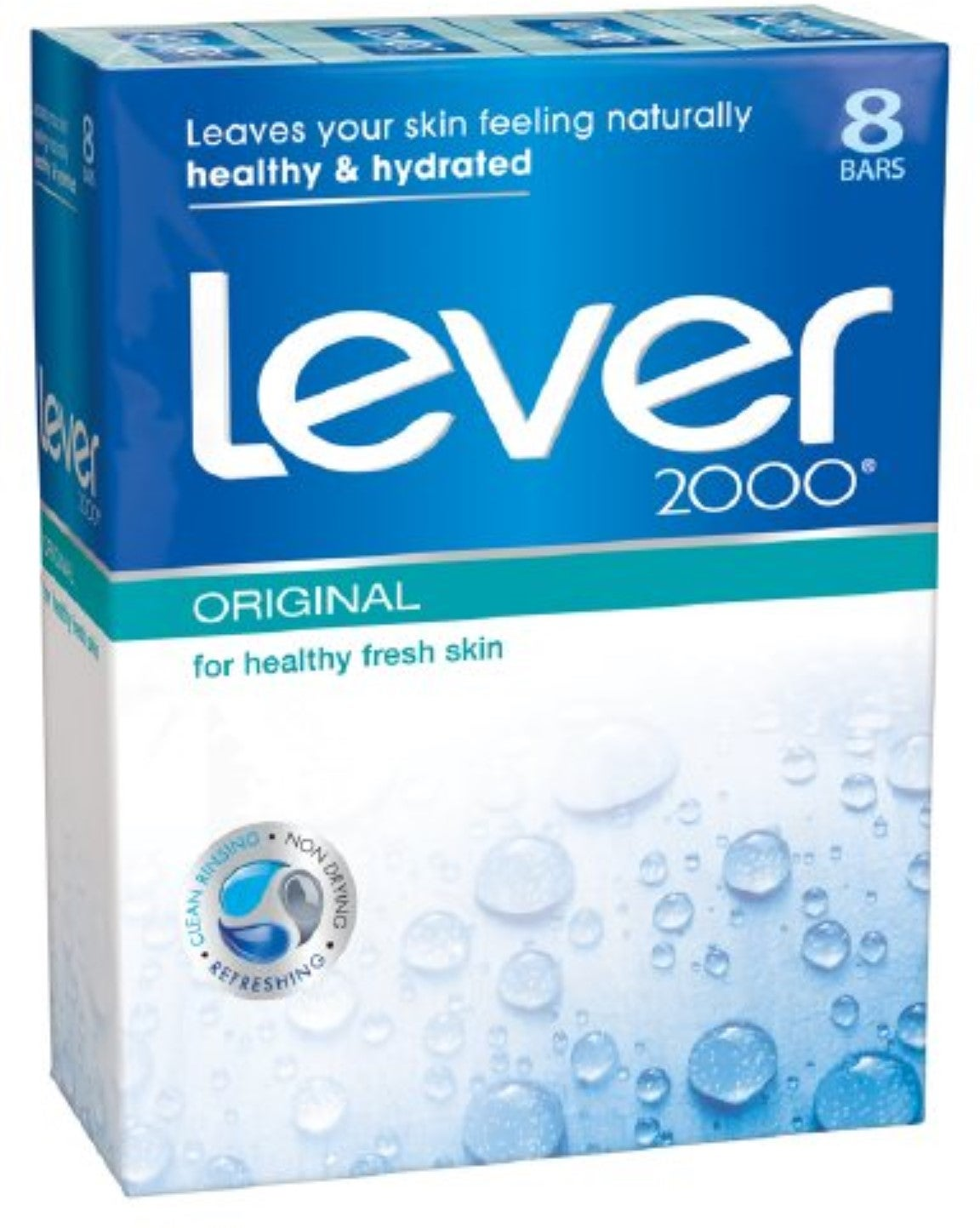 Lever 2000 Bar Soap Original 4 Oz Bars 8 Ea Free Shipping On Orders Over 45 18604864