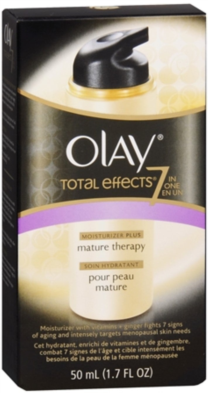 Shop Olay Total Effects 7 In 1 Anti Aging Moisturizer Plus Mature 7in1 Ageing Serum 50ml Skin Therapy 170 Oz Free Shipping On Orders Over 45 11673885