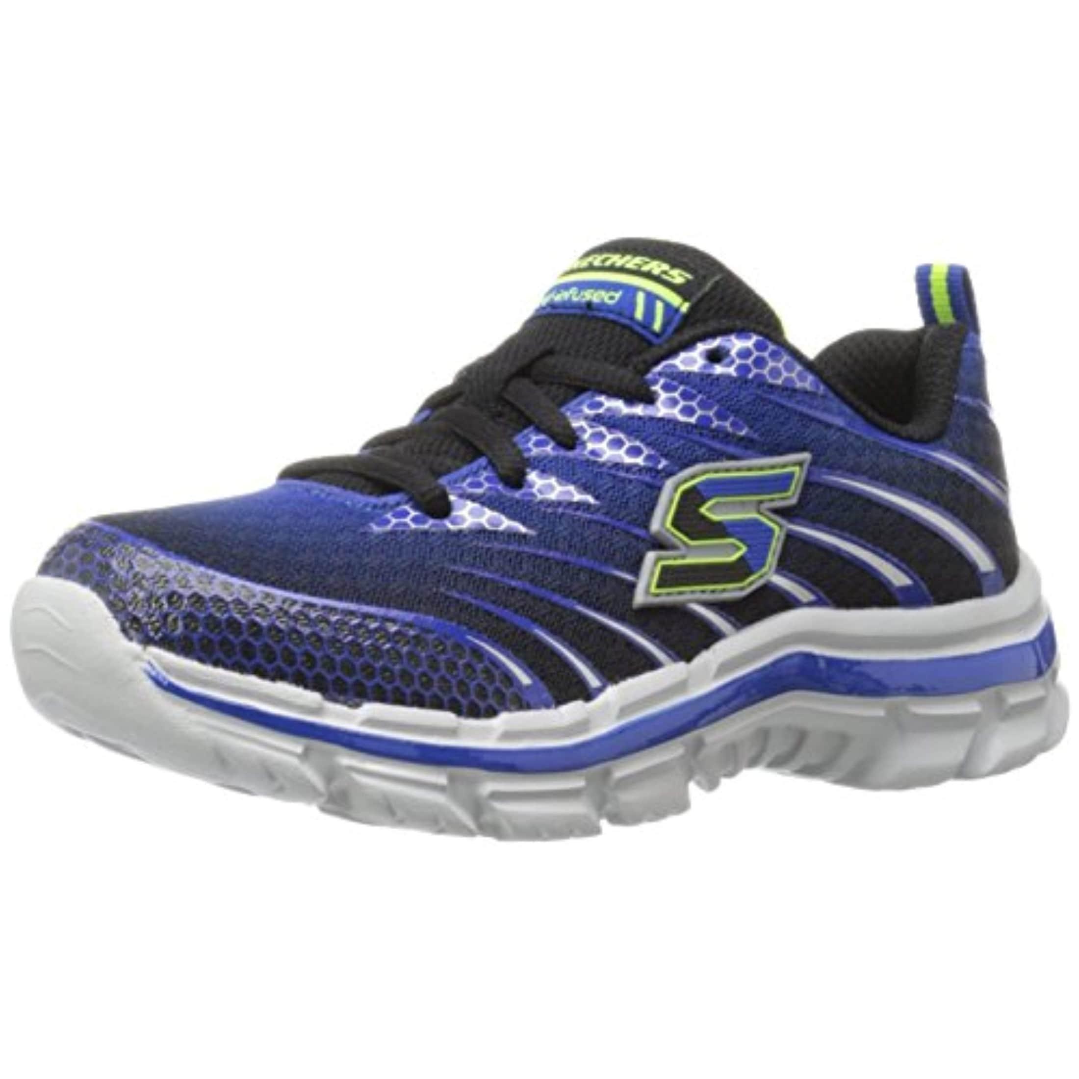 f1235a82b8b3 Shop Skechers Boys  Nitrate Training Shoe