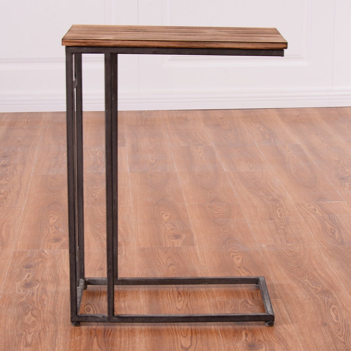 Costway 26 Solid Wood Coffee Tray Side Sofa End Table Ottoman Couch Stand Tv Lap Snack As Pic Free Shipping Today 16594910