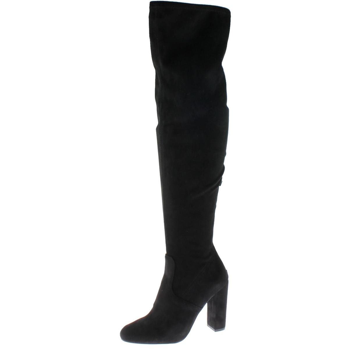 9f13bb8fb3f Shop Steve Madden Womens Emotions Over-The-Knee Boots Covered - On Sale -  Free Shipping Today - Overstock - 16151685