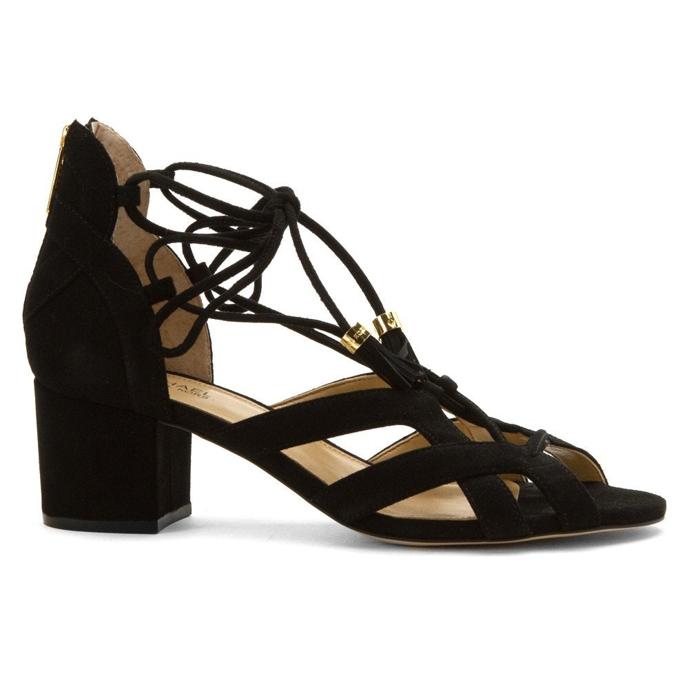 0951c114eeb2c8 Shop MICHAEL Michael Kors Womens mirabel mid Fabric Open Toe Casual Strappy  Sandals - Free Shipping Today - Overstock - 20562013