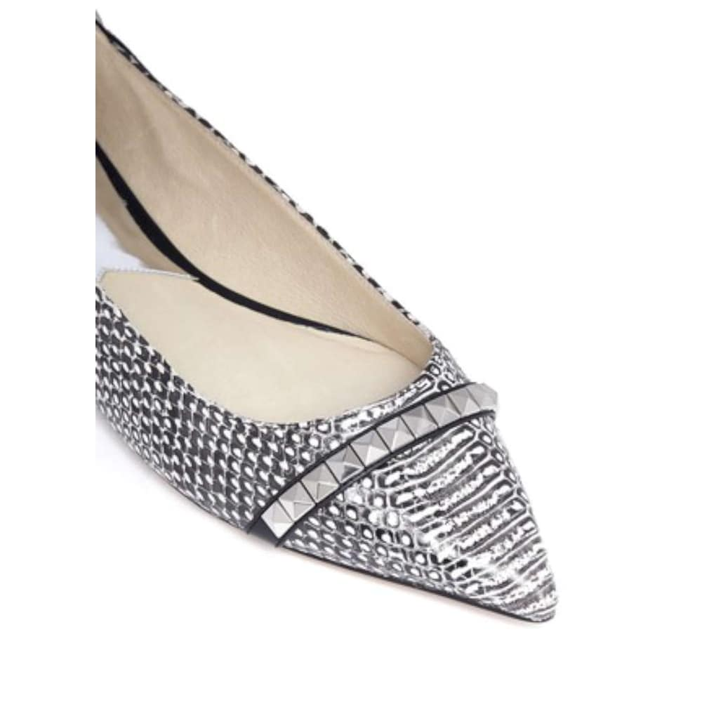 6268d1af3337a Shop Michael Michael Kors Womens Ella Flat Leather Pointed Toe Slide Flats  - 9.5 - Free Shipping Today - Overstock.com - 27348669