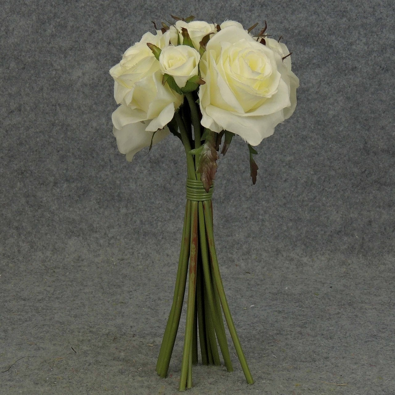 Shop 1 Pc 12 Inch Pre Made Rose Nosegay Bouquet Perfect For