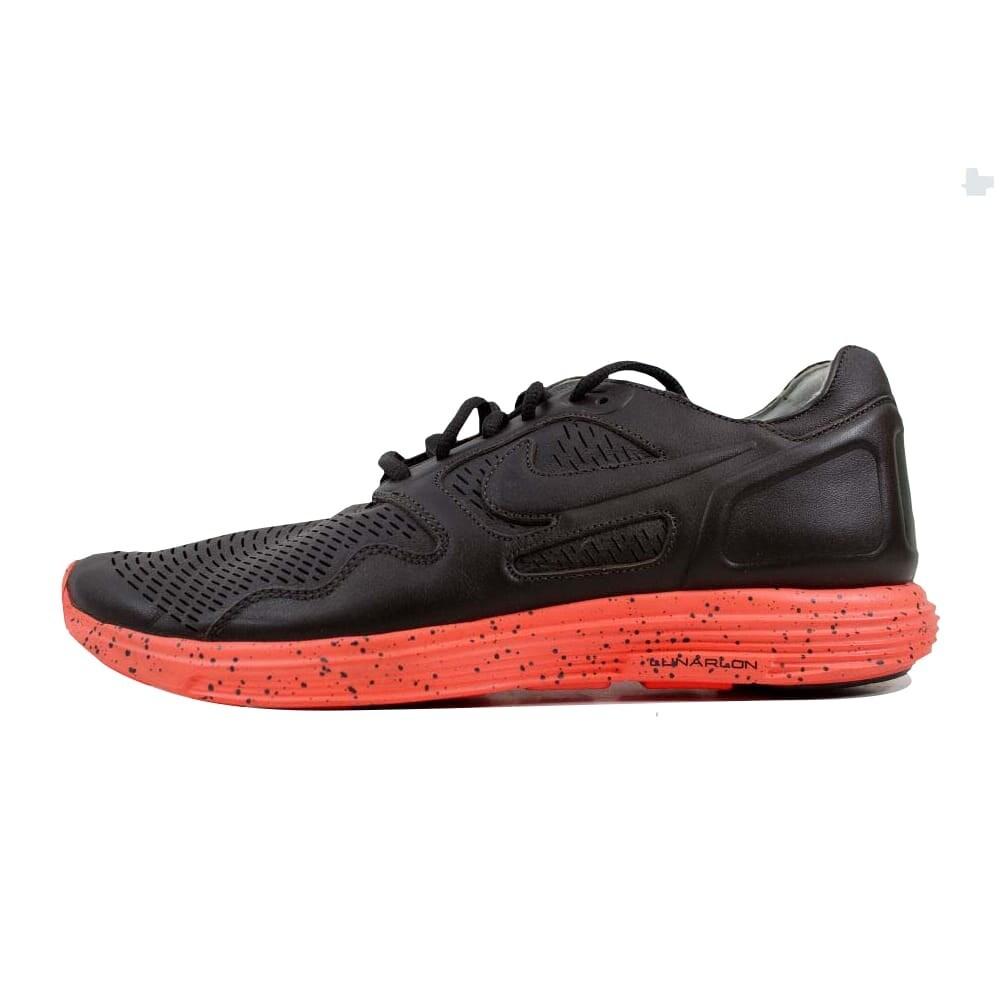detailed pictures db822 ce95c Shop Nike Lunar Flow Premium NRG Black Tea Black Tea-Total Crimson Men s  558670-200 Size 11 Medium - On Sale - Free Shipping Today - Overstock -  22340153