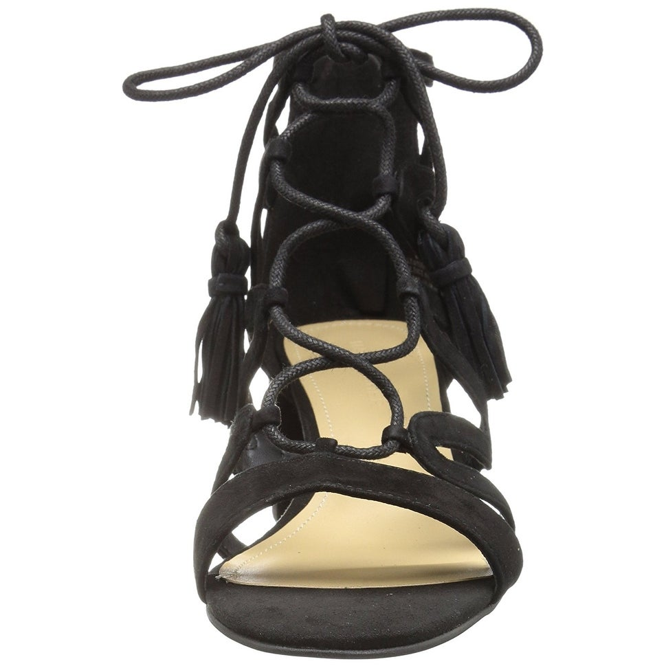 81c132bd21 Shop Marc Fisher Womens Rayz Suede Almond Toe Casual Strappy Sandals - Free  Shipping On Orders Over $45 - Overstock - 19808185
