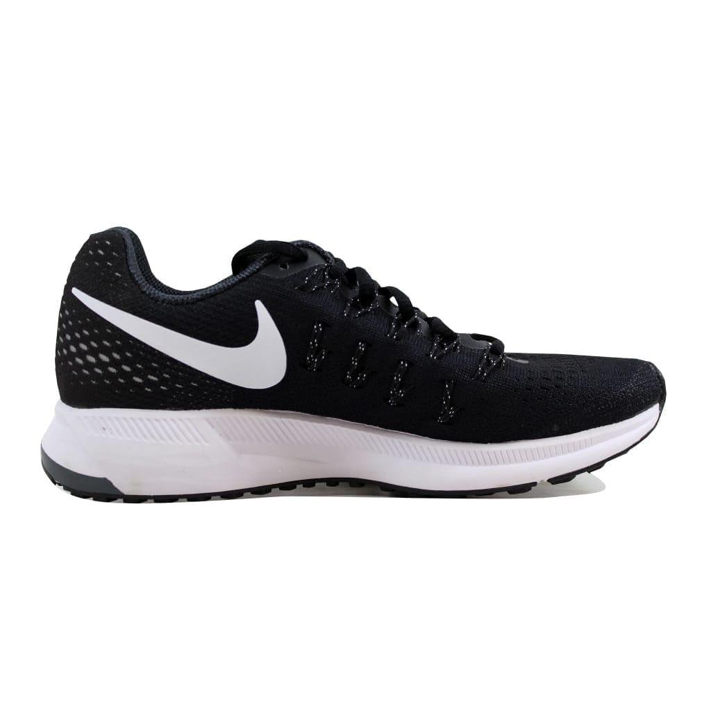 30a93d26749 Shop Nike Air Zoom Pegasus 33 Black White-Anthracite-Cool Grey 831356-001  Women s - Free Shipping Today - Overstock - 21141502