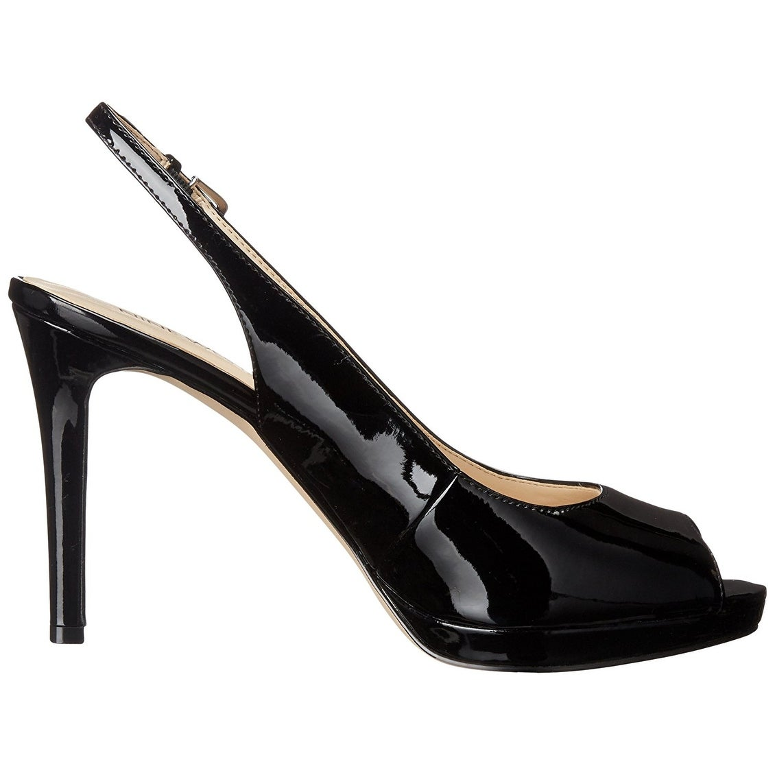 83345eefbb4 Shop Nine West Womens Emilyna Peep Toe SlingBack Platform Pumps - Free  Shipping Today - Overstock - 14526641