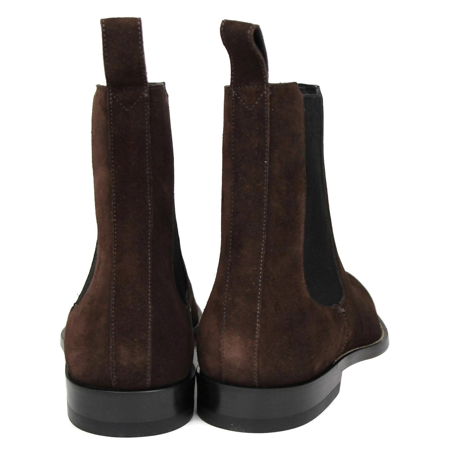 3318fffc0 Shop Gucci Men's Dark Brown Suede Chelsea Boot with Elastic Sides 256346  2145 (9.5 G / 10.5 US) - 9.5 G / 10.5 US - Free Shipping Today - Overstock  - ...