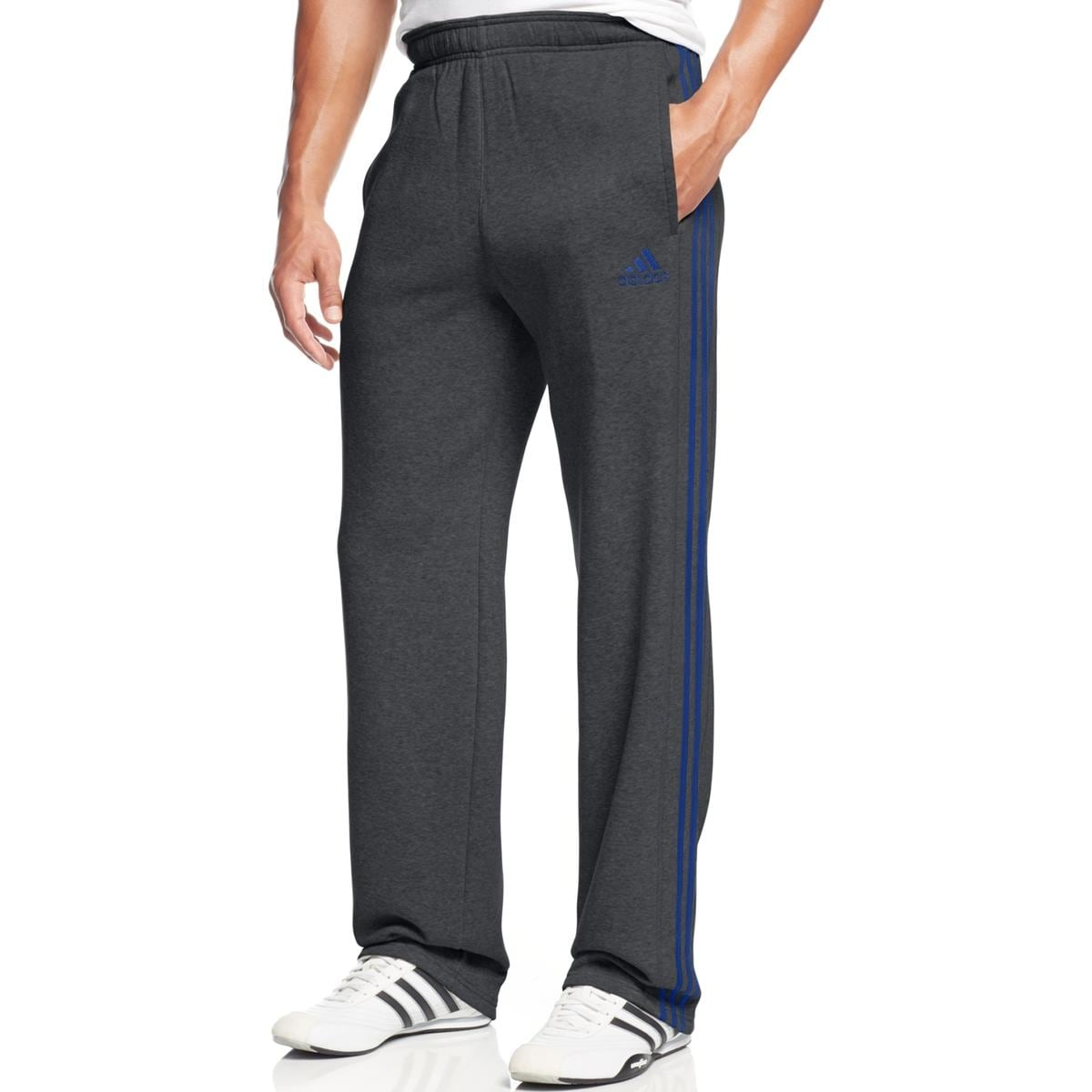 d250e5e19 Shop Adidas Mens Big & Tall Sweatpants Fleece Training - 2Xl - Free  Shipping On Orders Over $45 - Overstock - 20751049