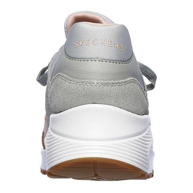Skechers Women's Uno Super Fresh Sneaker GrayPink