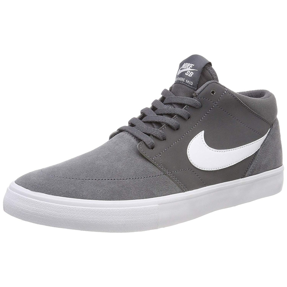 7e9f172b1f6 Shop Nike Sb Solarsoft Portmore Ii Mid Men s Skate Shoes (12 D(M) Us ...