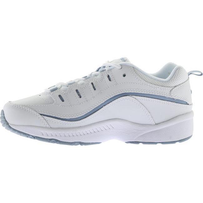 44e63b8e6 Shop Easy Spirit Women s Romy Walking Shoe White Medium Blue Leather - On  Sale - Free Shipping Today - Overstock - 8111576