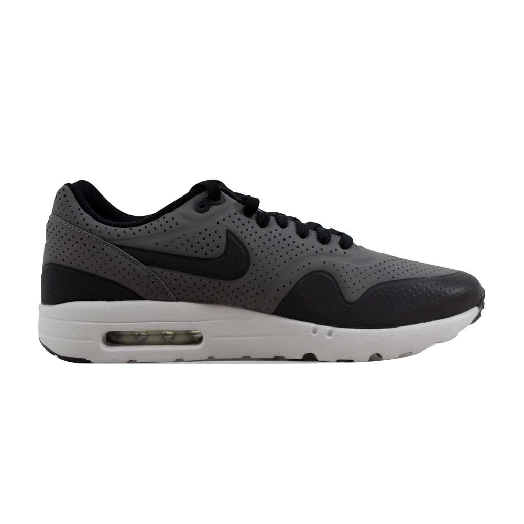 a4c42883db Shop Nike Men's Air Max 1 Ultra Moire Dark Grey/Black-Silver 705297-003 -  Free Shipping Today - Overstock - 22340413