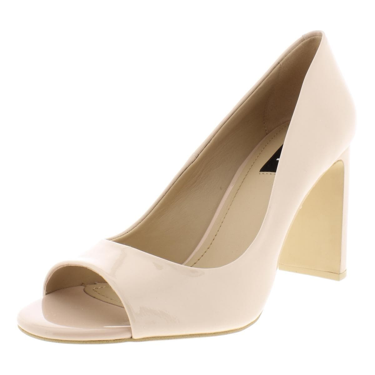 d524426a56f Shop DKNY Womens Jade Dress Heels Patent Leather Open Toe - Free ...