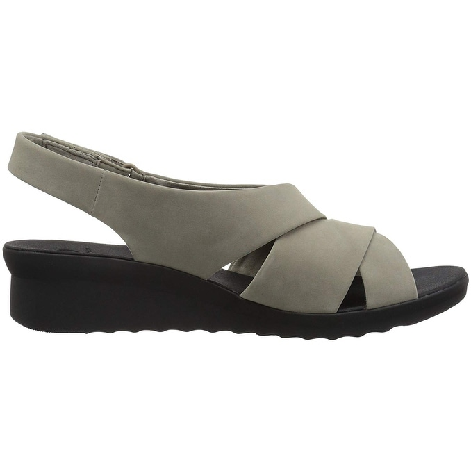 b75acfd2195 Shop Clarks Womens Caddell Petal Fabric Open Toe Casual Slingback Sandals -  Free Shipping On Orders Over  45 - Overstock - 25980458