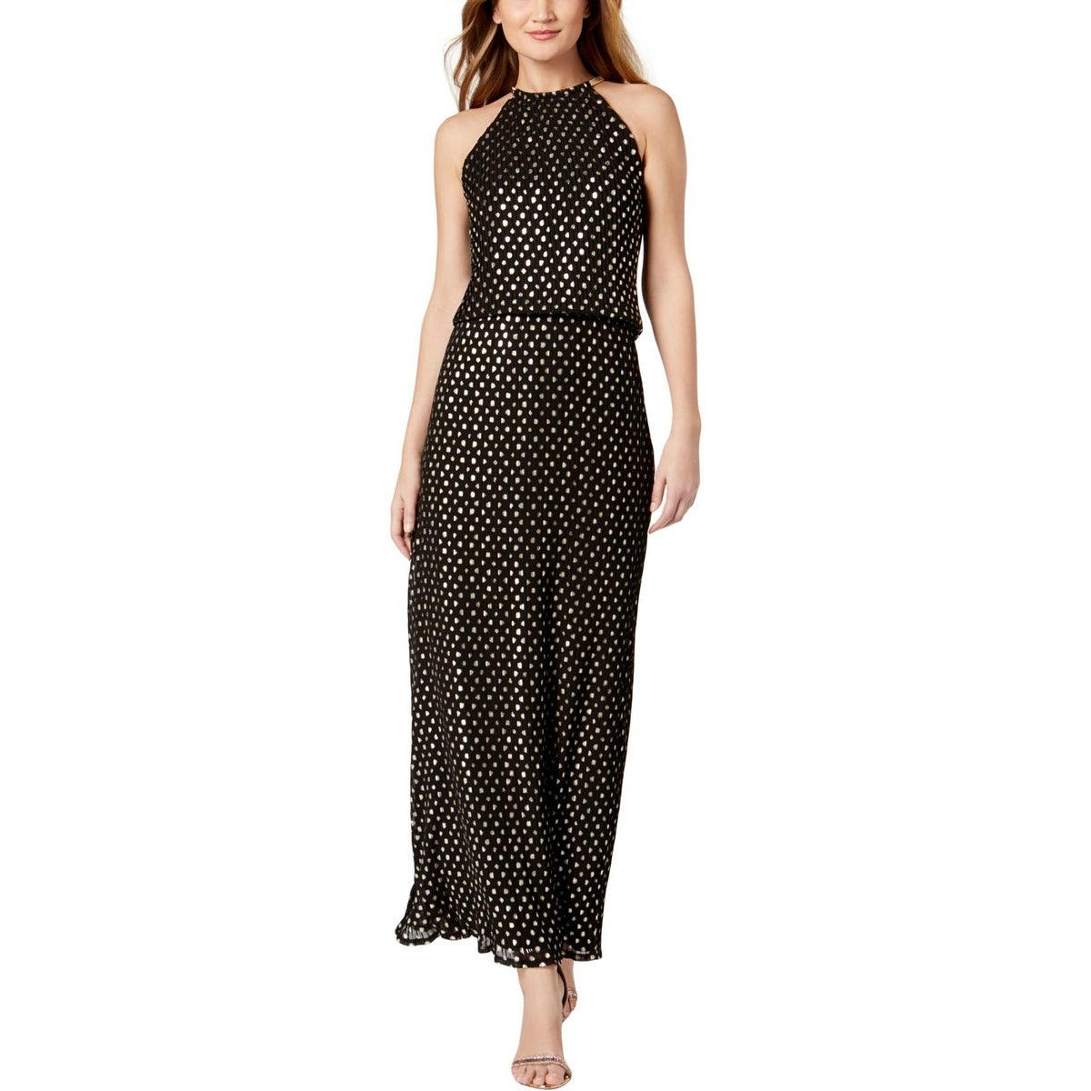 dec6e23e3898 Shop MSK Womens Maxi Dress Metallic Blouson - Free Shipping On ...