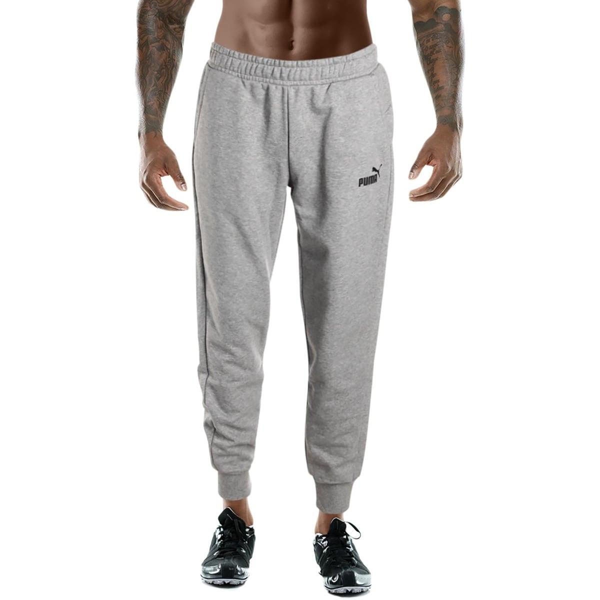 0f906c103b71 Shop Puma Mens Essentials Fleece Pants Sweatpants Lounge Jogger ...