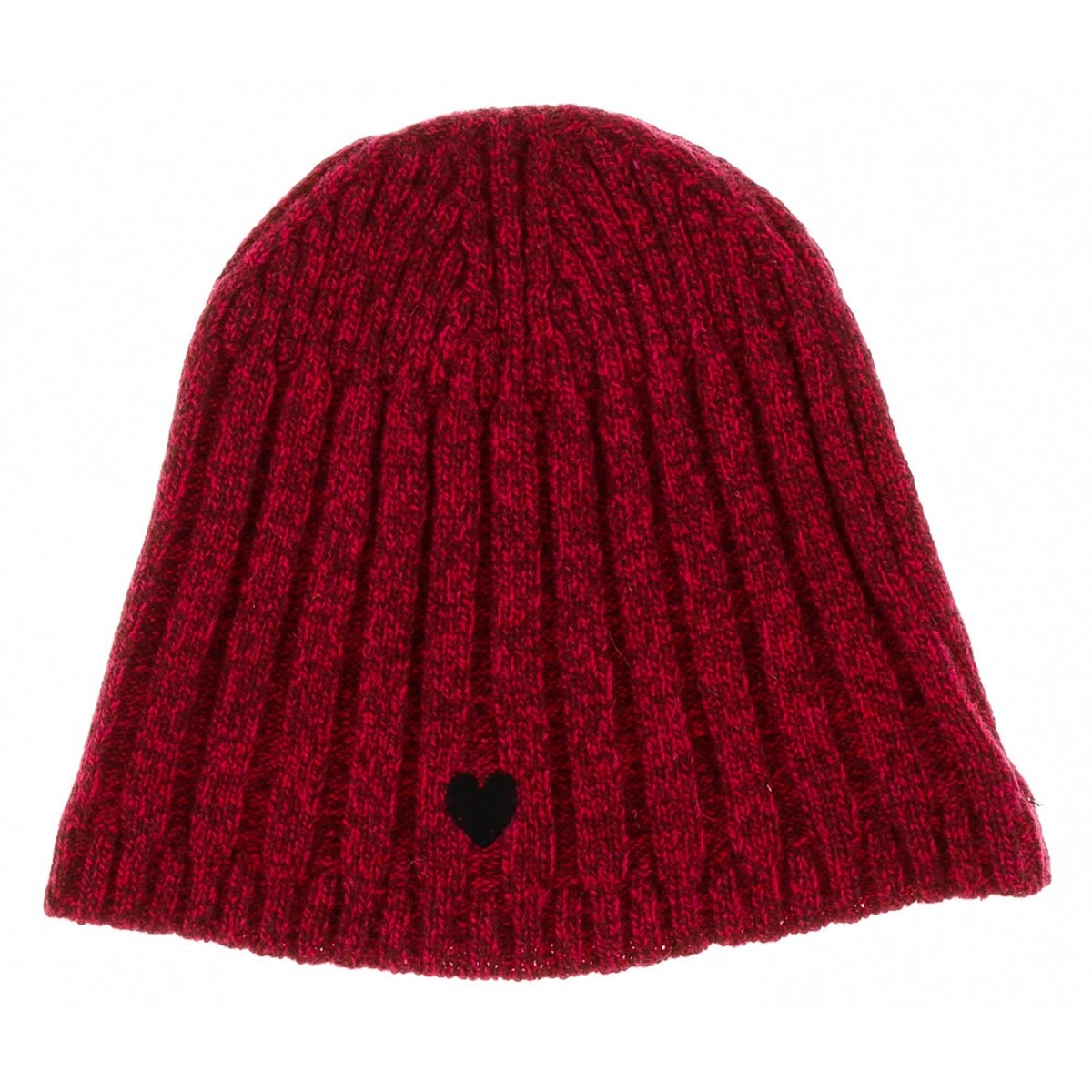 6253ed5ae01 Shop Moschino CAP01222 Wool Blend Chunky Ribbed Beanie Hat - One ...