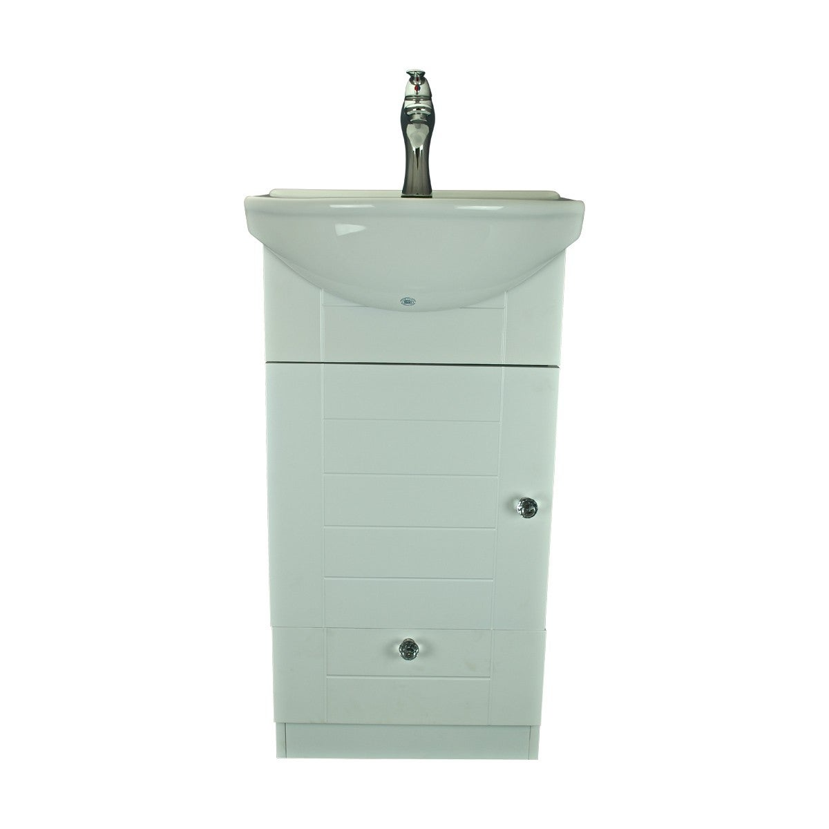 Small Wall Mounted Cabinet Vanity Bathroom Sink With Faucet Easy Emble Free Shipping Today 14041776