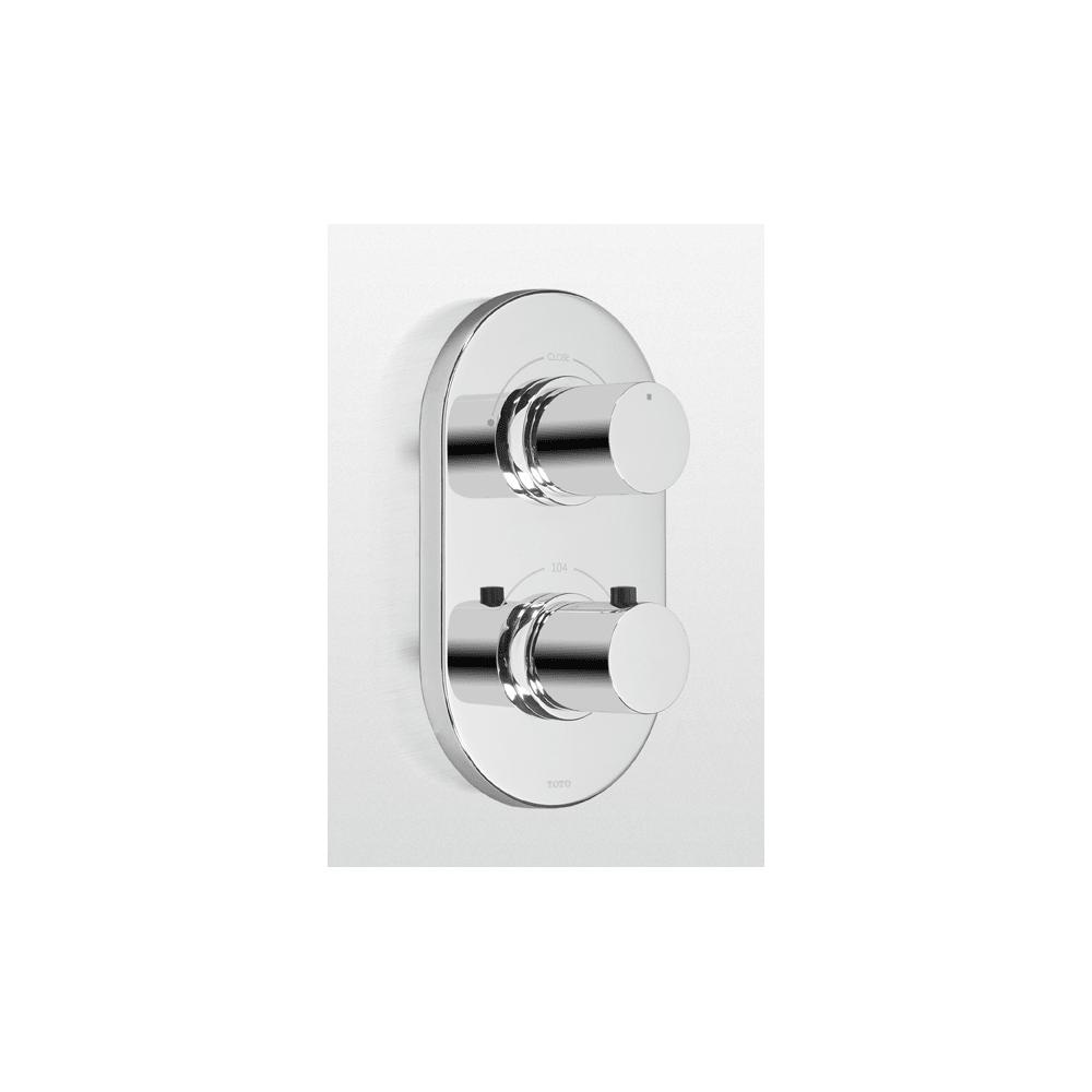 Shop Toto TS794D Thermostatic Mixing Valve Trim with Dual Volume ...