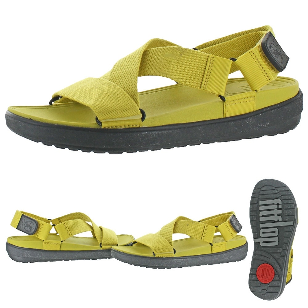 b0d94446d2b3b Shop FitFlop Sling Men s Criss Cross Back Strap Sandals - Free Shipping On  Orders Over  45 - Overstock - 20636439