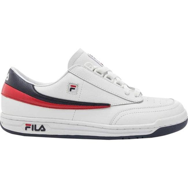 698539a4cacf Shop Fila Men s Original Tennis White Fila Navy Fila Red - Free Shipping  Today - Overstock - 20545601