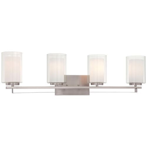 Minka Lavery 6104-84 4 Light Vanity Light from the Parsons Studio Collection