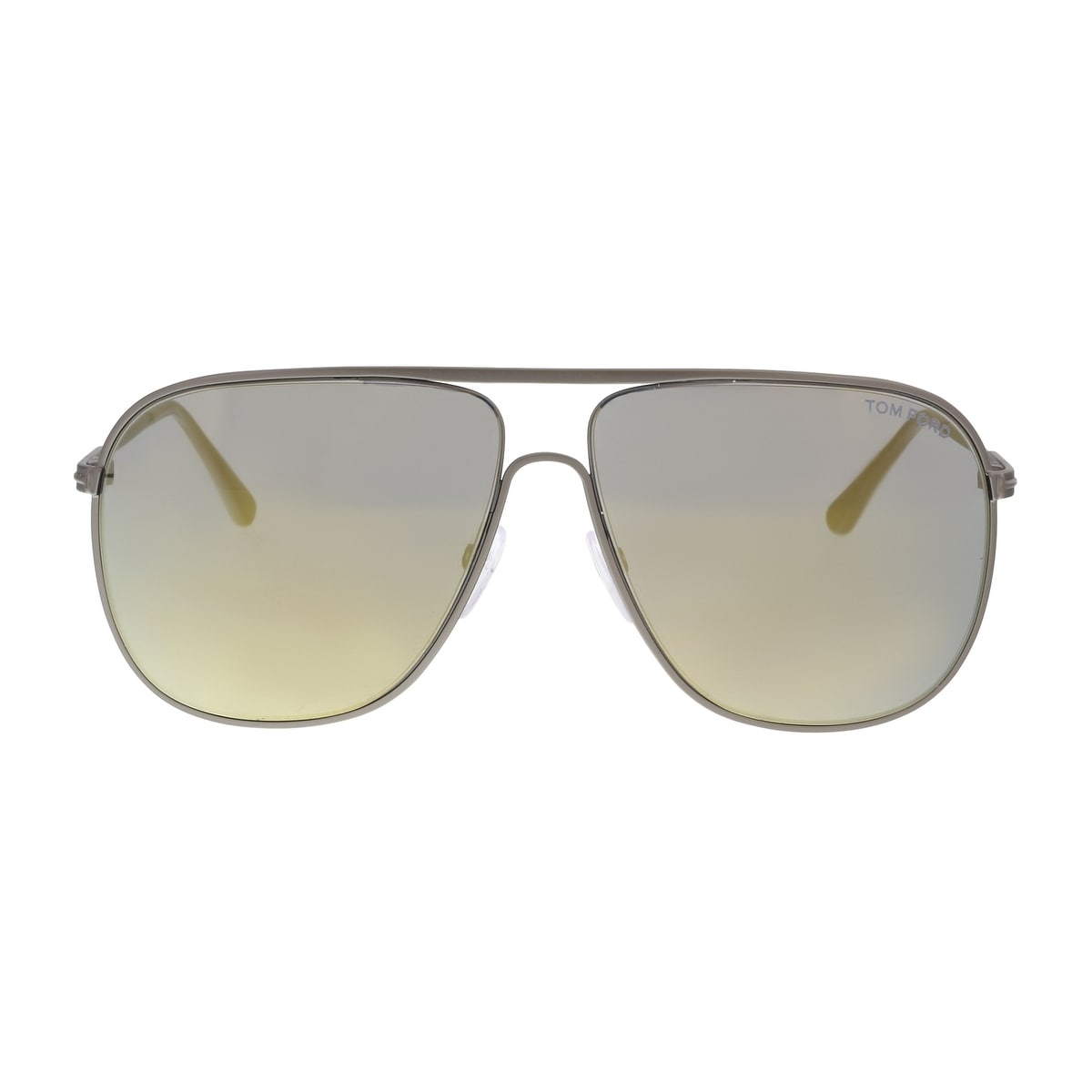a2447621d8 Shop Tom Ford FT0451 S 09C DOMINIC Pewter Aviator Sunglasses - 60-11-140 -  Free Shipping Today - Overstock - 19223113