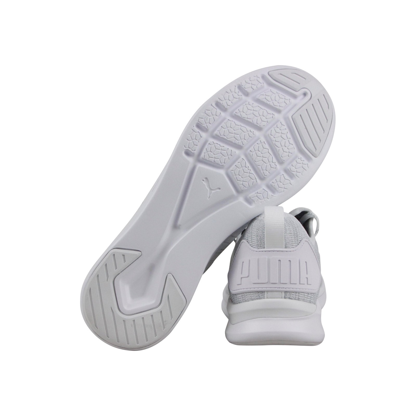 2cb1bc989035 Shop Puma Ignite Flash Evoknit Mens White Textile Athletic Training Shoes -  Free Shipping Today - Overstock - 26880618