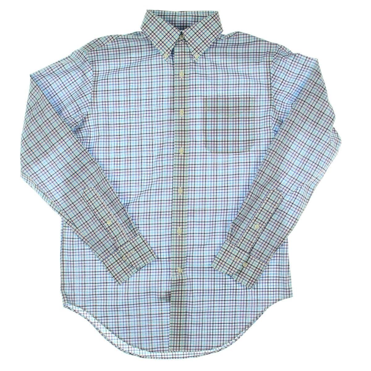 Lauren Ralph Lauren Mens Dress Shirt Classic Fit Non Iron