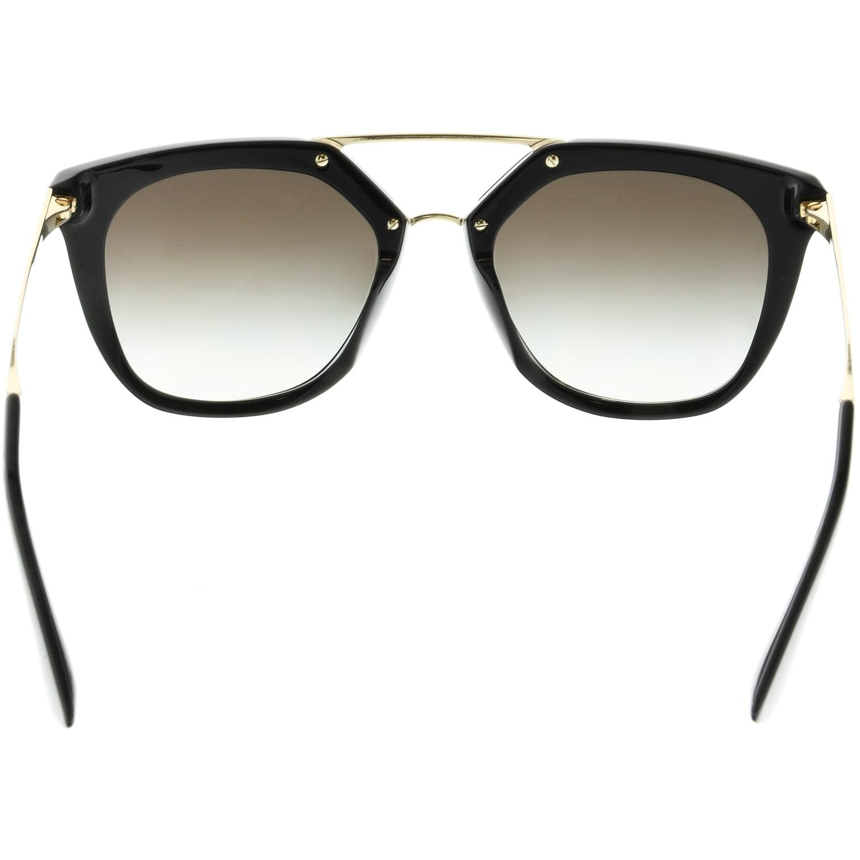 f6e28a09f9 ... sweden shop prada womens gradient pr13qs 1ab0a7 54 black geometric  sunglasses ships to canada overstock 18914791