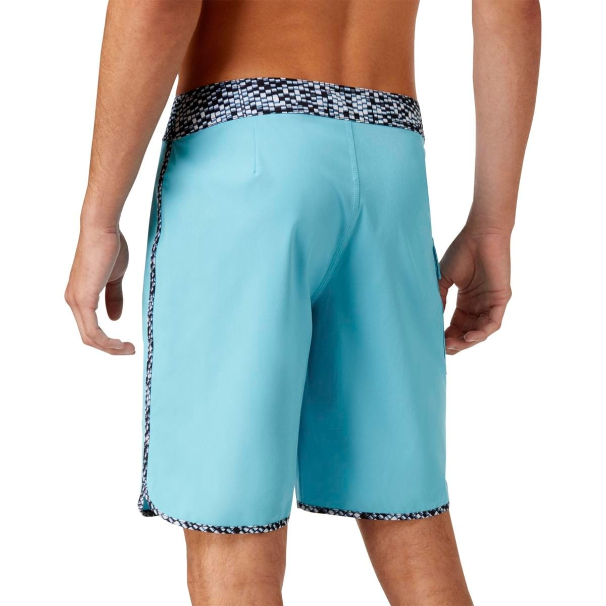 e93fe1473d Shop RVCA Mens Colorblock Swim Board Shorts - Free Shipping On Orders Over  $45 - Overstock - 19964376
