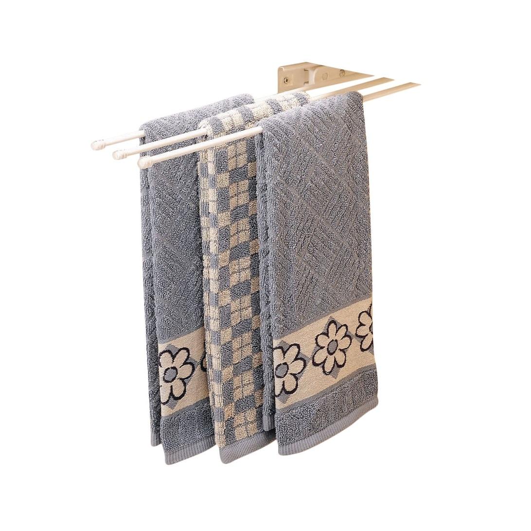 Shop Rev A Shelf 563 47 563 Series 3 Prong Towel Bar With 12 Slides
