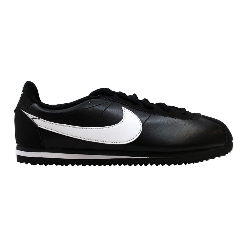 size 40 6ea9f fa123 Shop Nike Cortez Black White 749482-001 Grade-School - On Sale - Free  Shipping Today - Overstock - 19507765