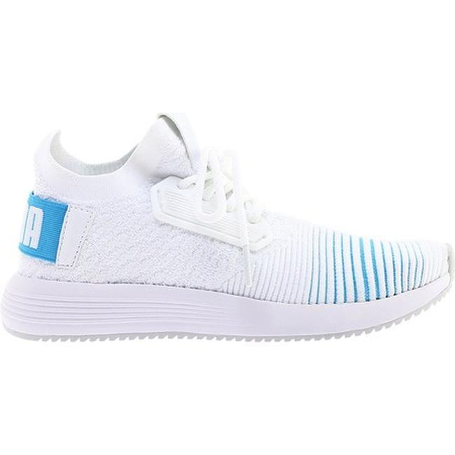 Shop PUMA Women s Uprise Color Shift Sneaker PUMA White Bluefish Gray  Violet - Free Shipping Today - Overstock - 25558903 36e5f0c6c
