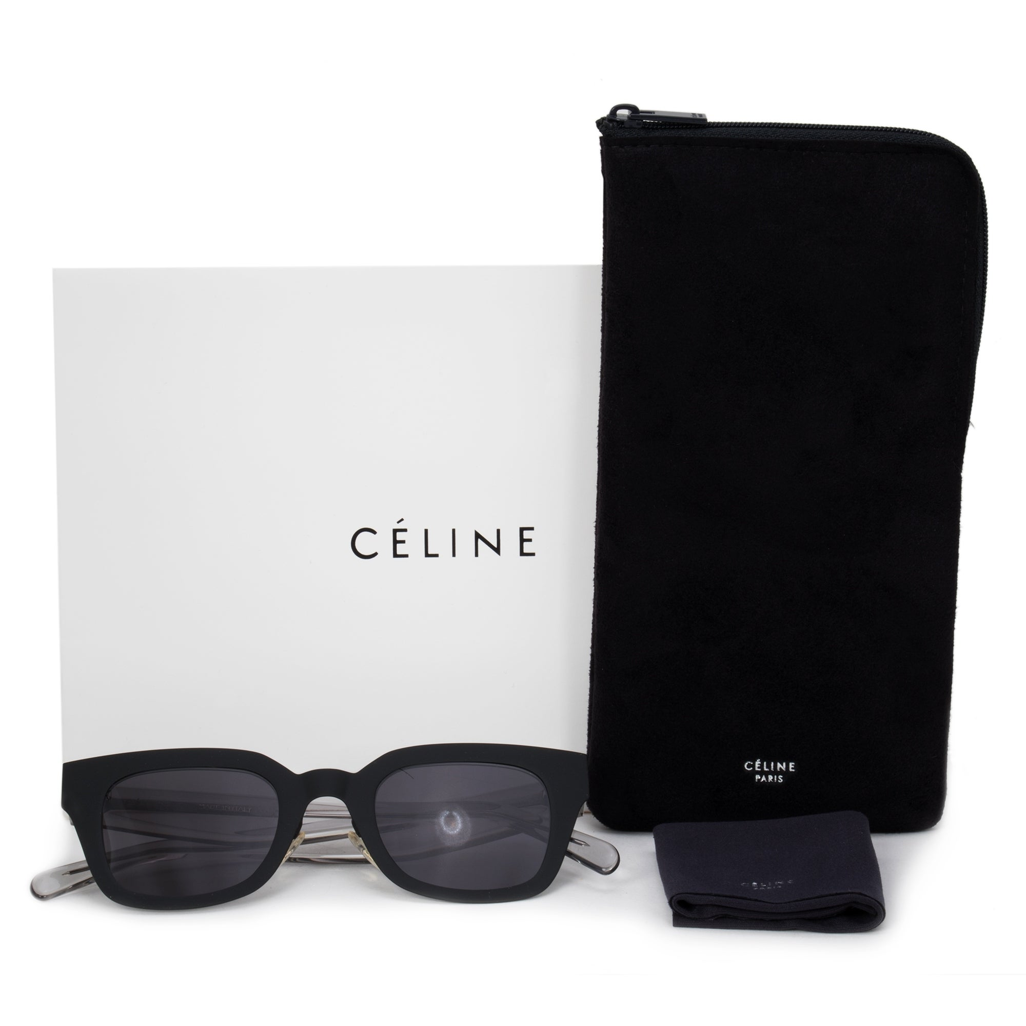 d1b636878a9 Shop Celine Wayfarer Sunglasses 41451 S 807 IR 47 - On Sale - Free Shipping  Today - Overstock - 23138749