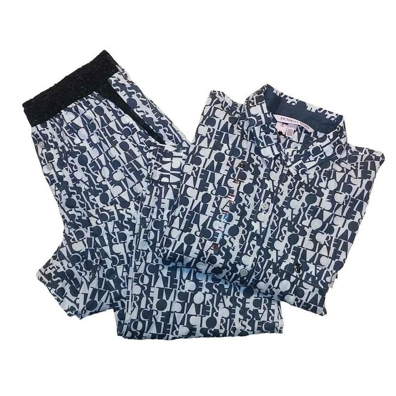 800a8af08311a Victoria's Secret 2PC Pajama Set The Mayfair Lightweight