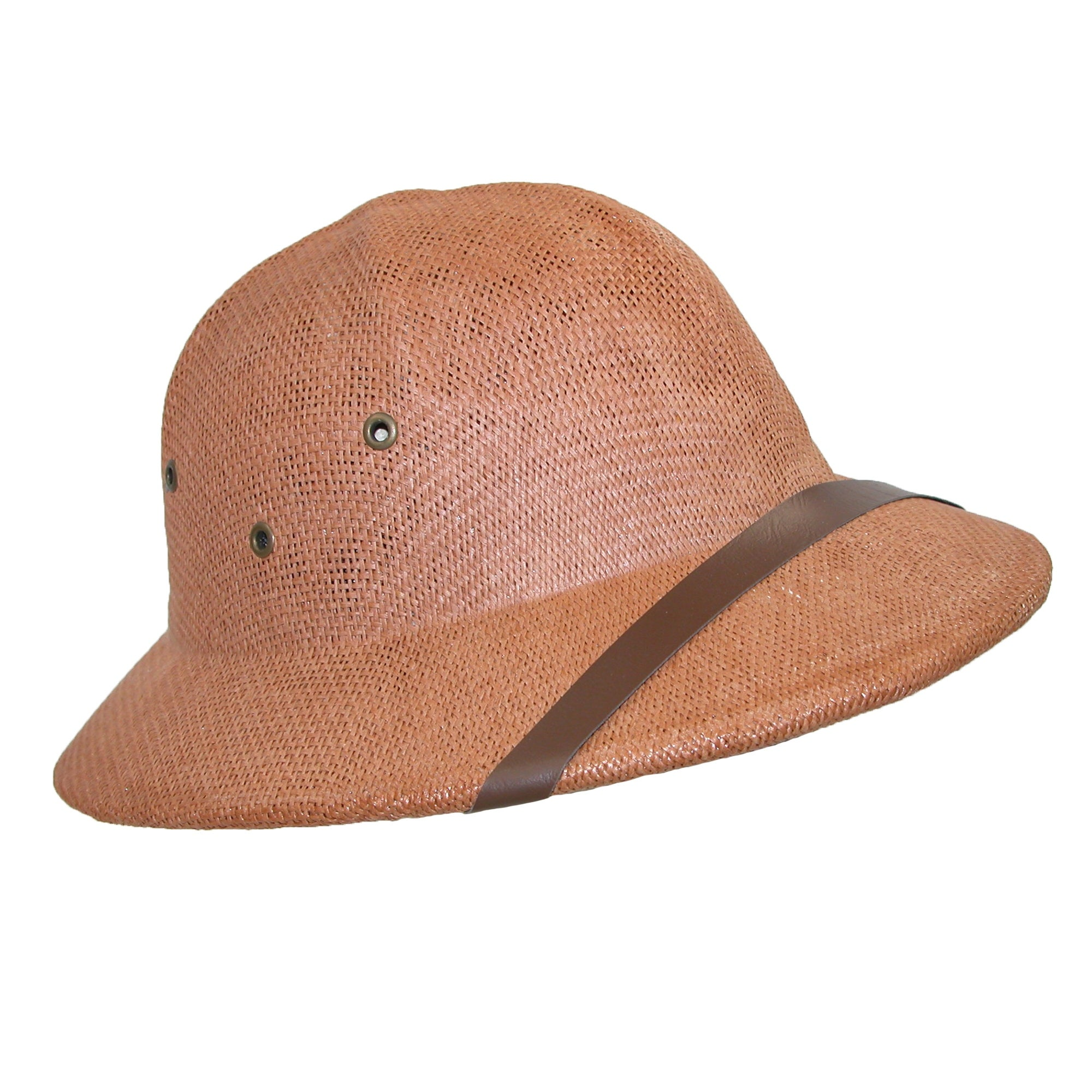 c8bad895a620d Shop CTM® Twisted Toyo Straw Pith Safari Helmet Hat - Free Shipping On  Orders Over  45 - Overstock - 14278805