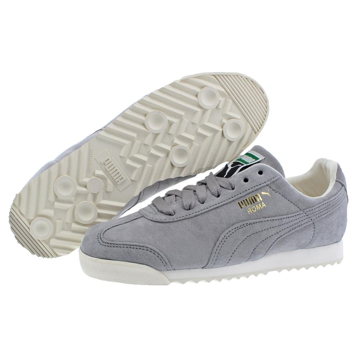 best website c8696 41c41 Puma Mens Roma Distressed Fashion Sneakers Trainer Non Marking