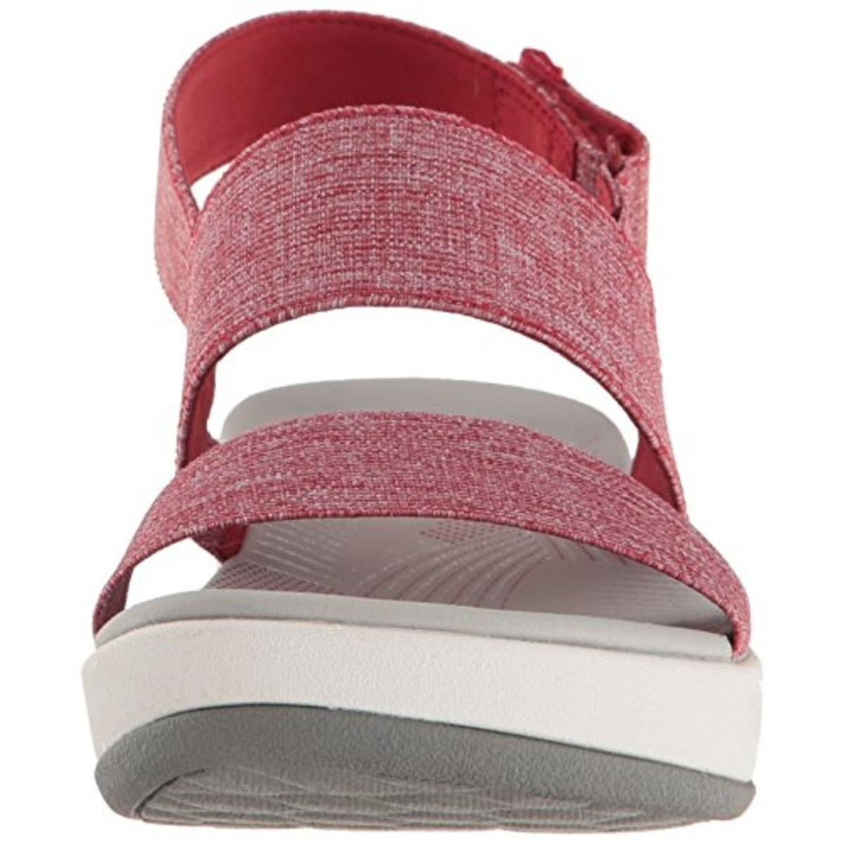 2aeaa94c24d3 Shop Clarks Womens Arla Jacory Wedge Sandals Woven Casual - 8.5 medium (b