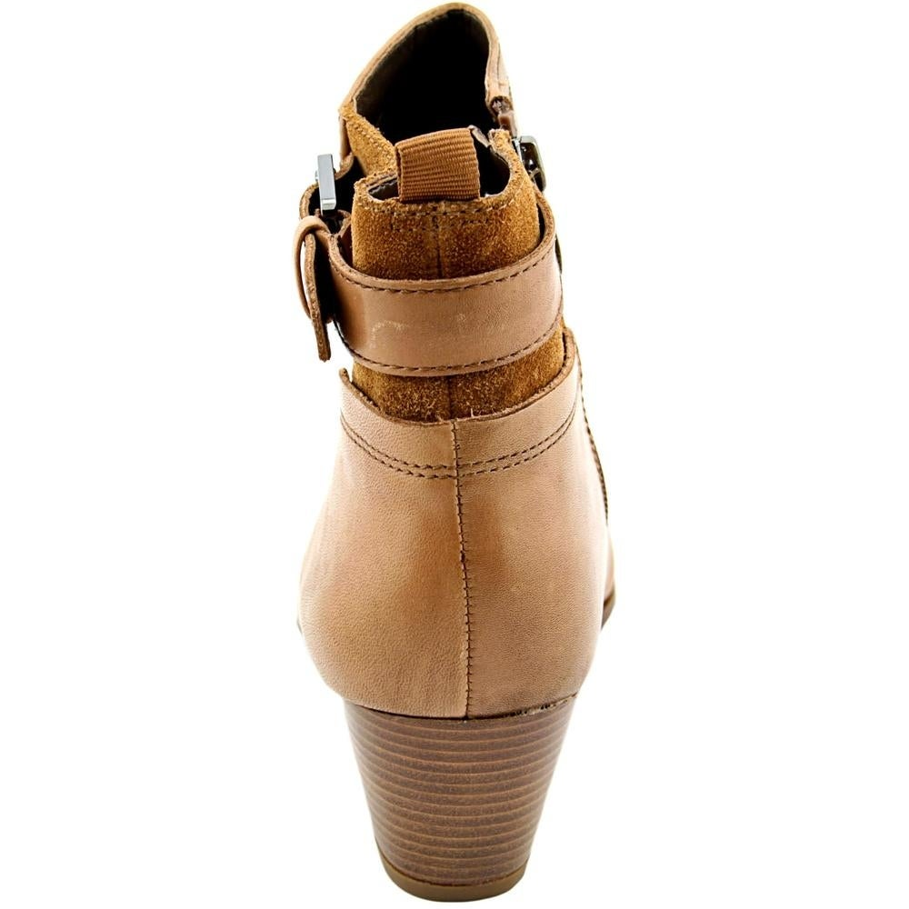 d0824e4d1a22 Shop Franco Sarto Garda Women Round Toe Leather Brown Ankle Boot - Free  Shipping On Orders Over  45 - Overstock - 13573484