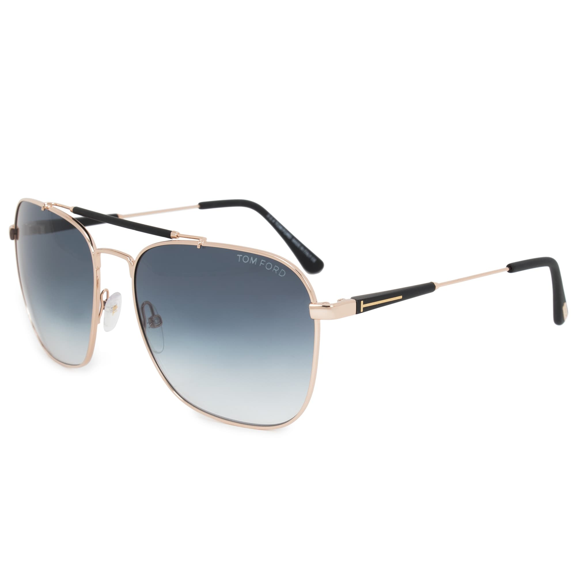 ad44ce4a47 Shop Tom Ford Edward Aviator Sunglasses FT0377 28W 60 - Free Shipping Today  - Overstock - 25494020