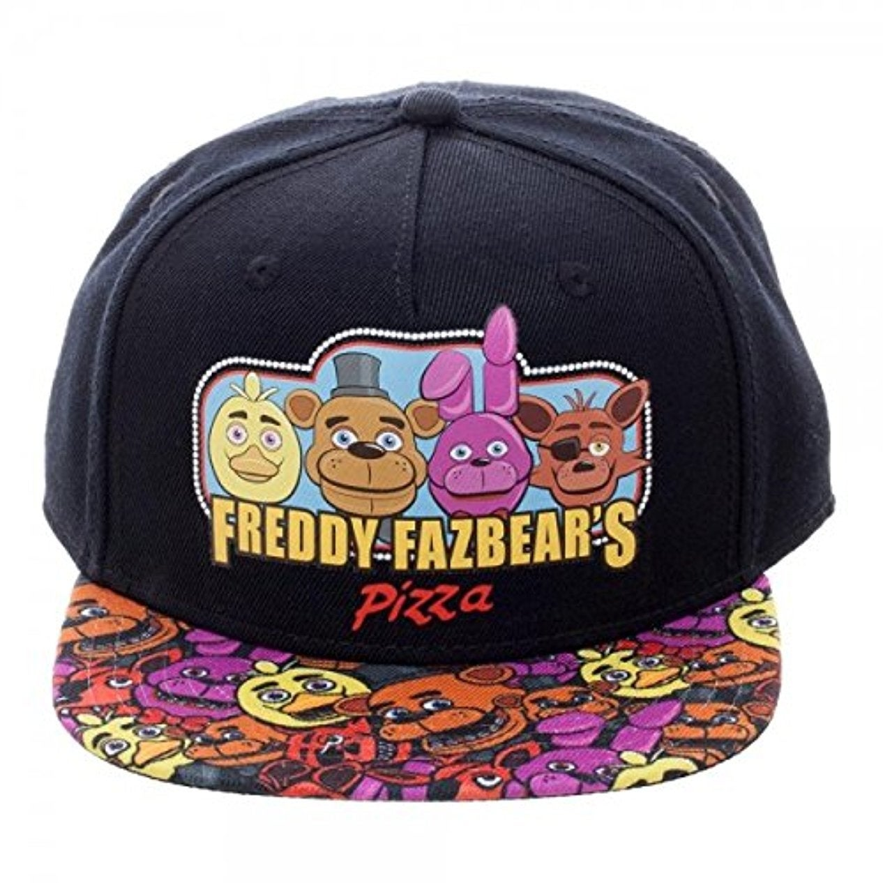 0d7e1431ac5 Shop Five Nights at Freddy s Youth Snapback Cap - multi - Free Shipping On  Orders Over  45 - Overstock.com - 14877204